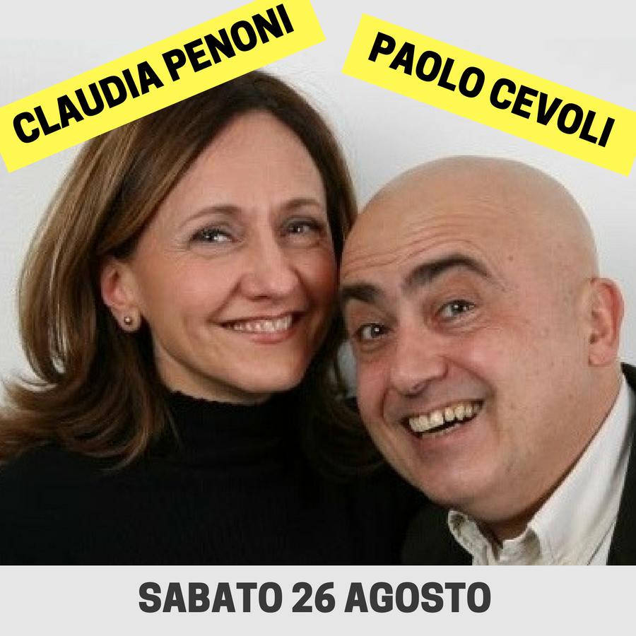 PAOLO CEVOLI e CLAUDIA PENONI.COPERTINA
